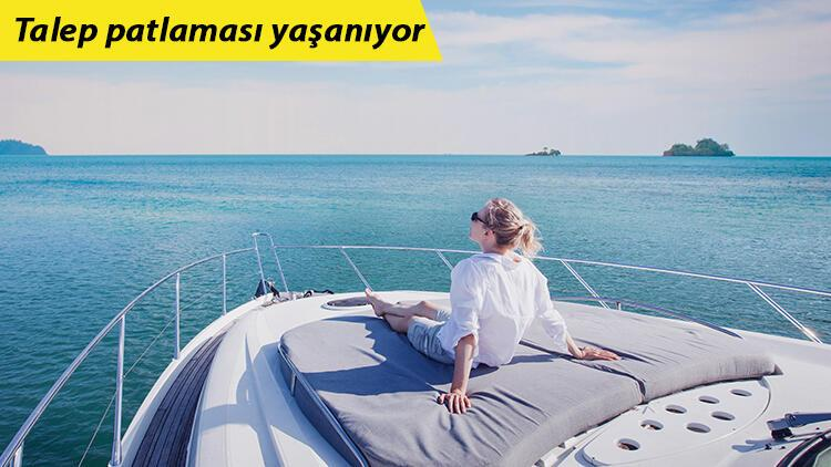 Tekne turizmi canlandı! Tatil yapacak yer kalmadı