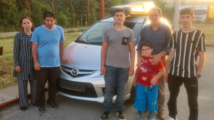 Ehliyetini Almanya'da unutan aile, 3 gündür Bulgaristan'da perişan oldu!
