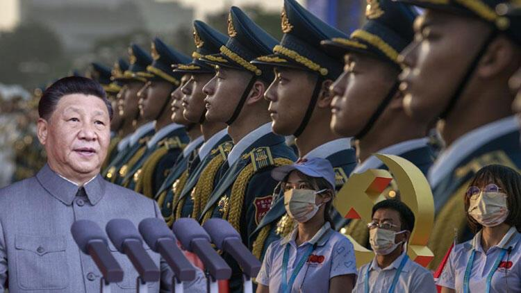 Çinde görkemli 100. yıl kutlaması... Dünyaya gözdağı verdiler
