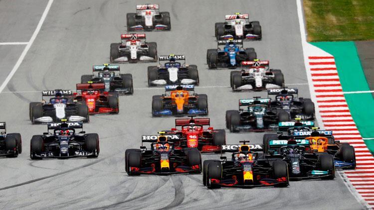 Formula 1de heyecan yine Avusturyada devam ediyor