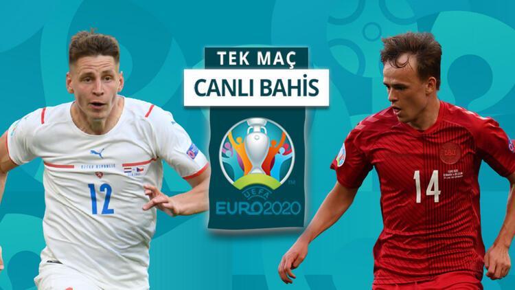 EURO 2020de yarı finale yükselen 3. takım hangisi olacak Danimarkanın Çekya karşısında galibiyetine iddaada...