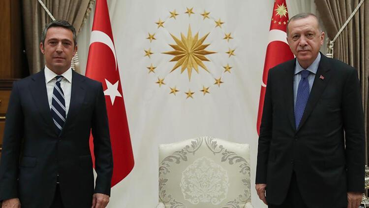 Fenerbahçe Başkanı Ali Koç'un mektubuna Cumhurbaşkanı Erdoğan'dan yanıt!