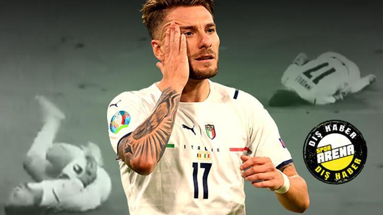 Son Dakika Haberi... EURO 2020de Belçika-İtalya maçında Ciro Immobilenin hareketi olay oldu Bu bir mucize, komik değil