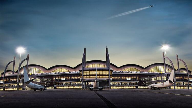 Sabiha Gökçen Havalimanında günlük yolcu sayısı 100 bine dayandı