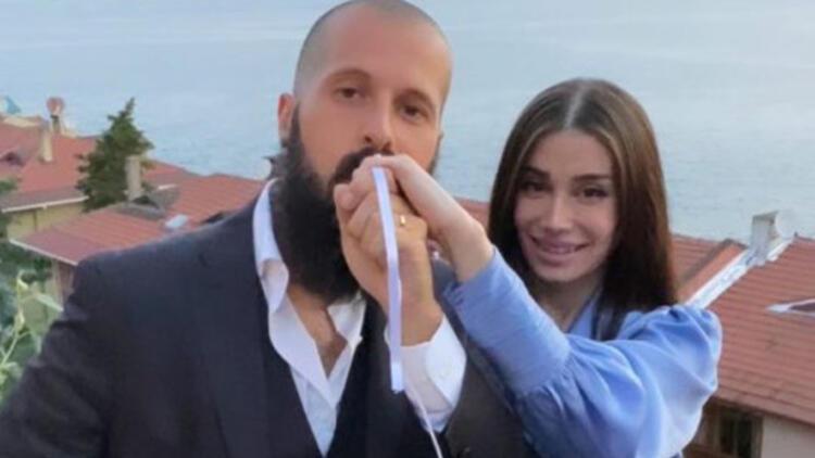 Orhan Gencebayın oğlu Gökhan Gencebay - Seda Han ile nişanladı