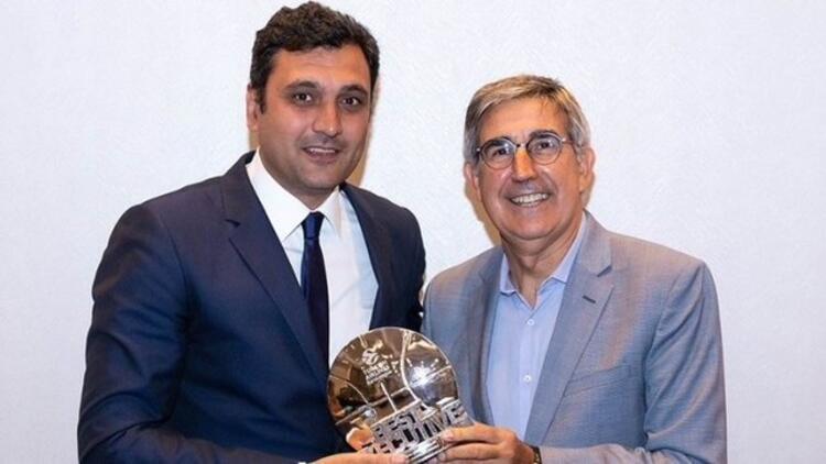 Euroleague'de yılın yöneticisi Anadolu Efes Genel Menajeri Alper Yılmaz