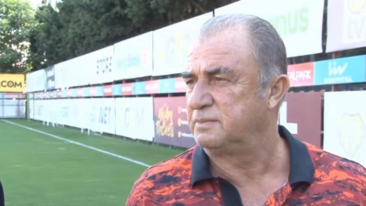 Fatih Terim: Galatasarayda gönlüm çok rahat