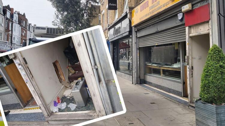 Türk kuyumcuya soygun girişimi