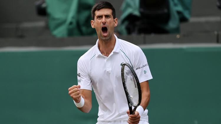 Djokovic, Wimbledon'da finale yükseldi! Rakip Berrettini