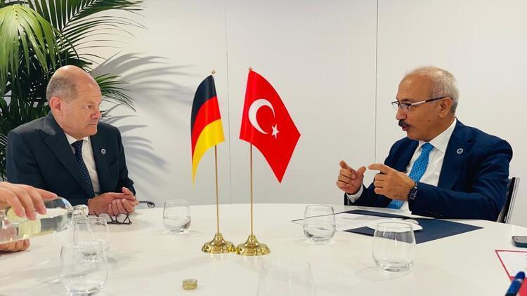 Bakan Elvan, Alman mevkidaşı ile görüştü