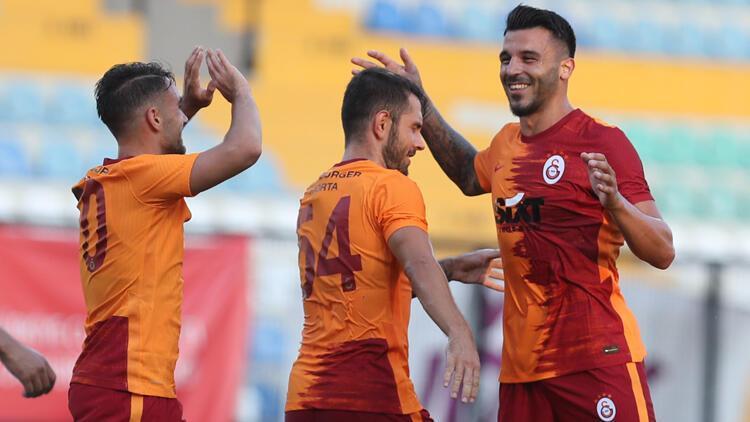 Son dakika: Galatasaray 4-2 Kasımpaşa / Maçın özeti ve golleri