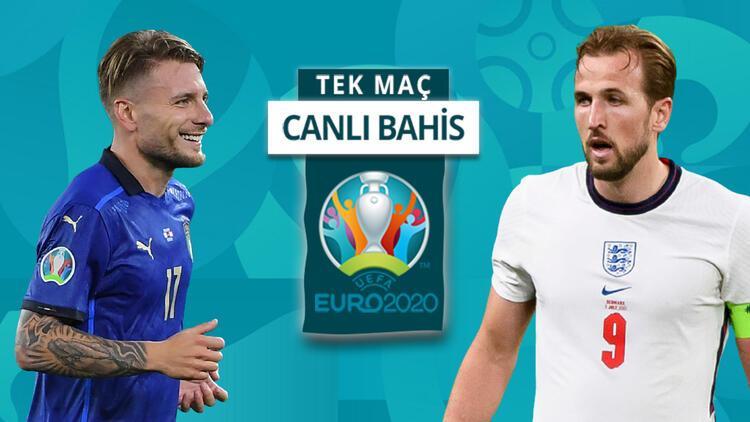 EURO 2020 finalinde hangi takım gülecek? İngiltere'nin İtalya karşısında galibiyetine iddaa'da...