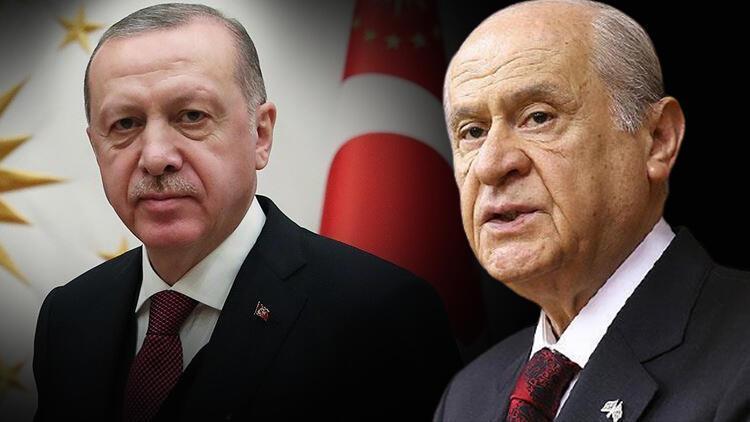 MHP lideri Devlet Bahçeli'den, Cumhurbaşkanı Erdoğan'a anlamlı hediye