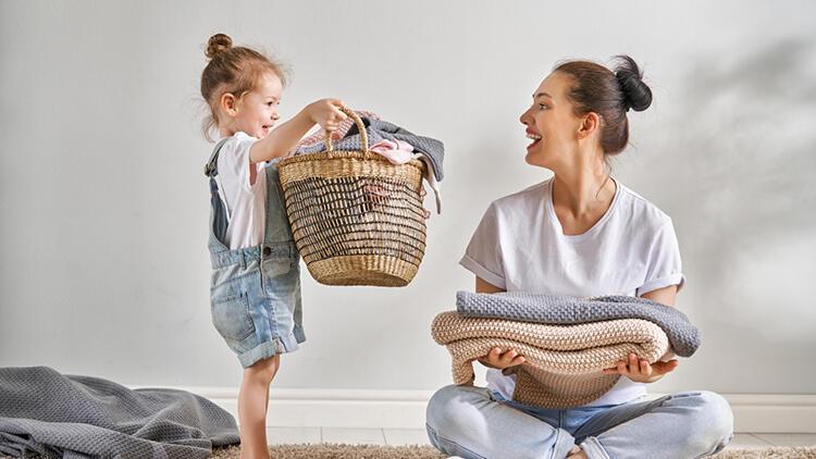 Çocuklar için yaşına uygun ev işleri