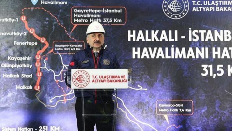 Halkalı İstanbul 3. Havalimanı metro durakları güzergah bilgileri