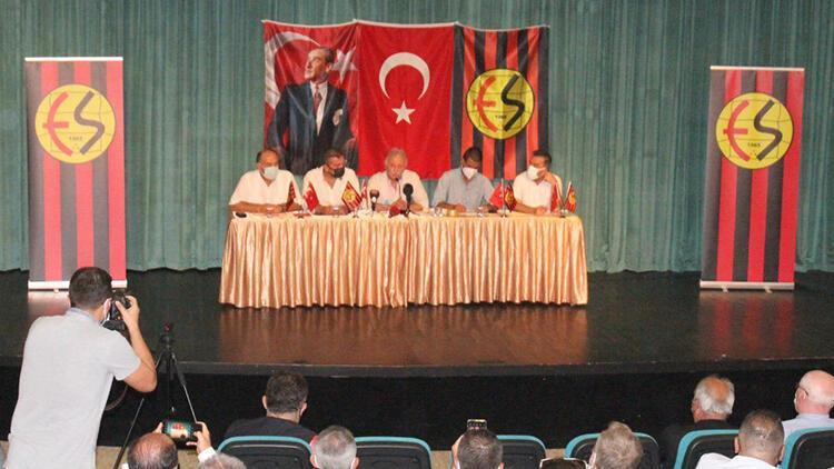 Eskişehirspor'da üçüncü kez seçim yapılamadı! Başkan adayı...