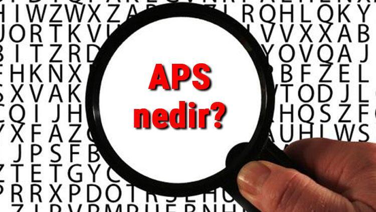 APS nedir, zarfı nasıl doldurulur? APS kaç günde gider?