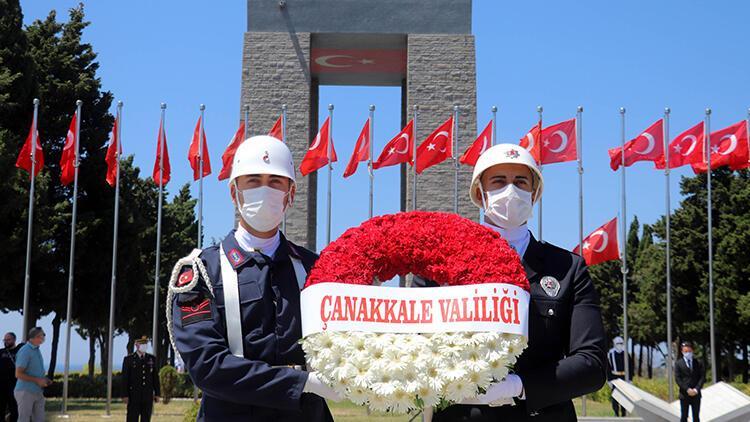 15 Temmuz şehitleri, Çanakkale'de Şehitler Abidesi'nde anıldı