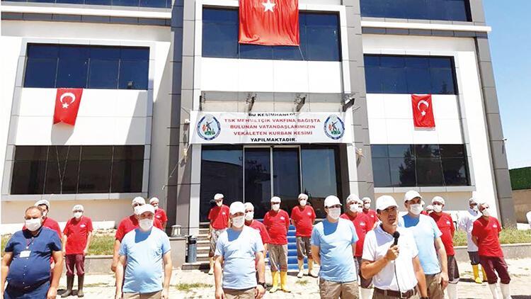 Mehmetçik Vakfı kurban bağışlarını kabul ediyor