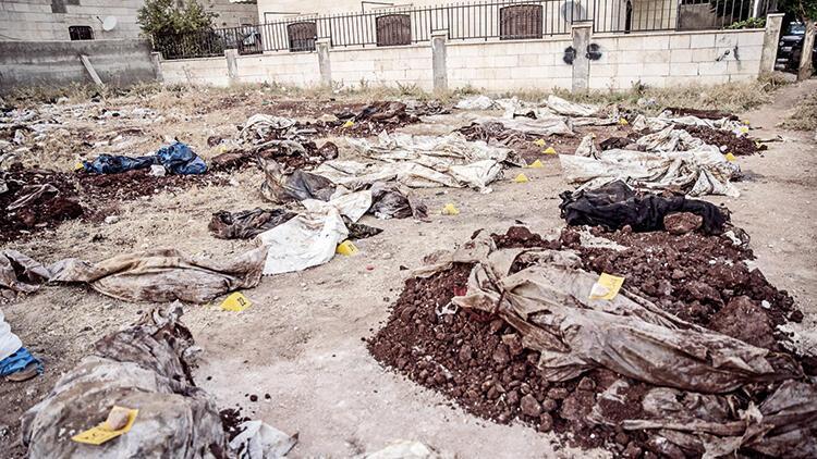 YPG/PKK'nın yeni bir katliamı ortaya çıktı: Afrin'de 68 kişilik toplu mezar bulundu