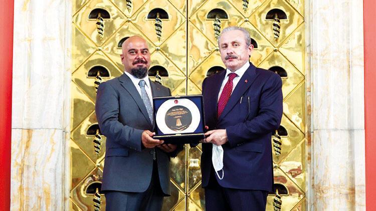Meclis Başkanı'ndan Hürriyet muhabirine 15 Temmuz ödülü