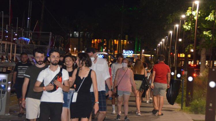 Bodrum'da bayram tatili yoğunluğu