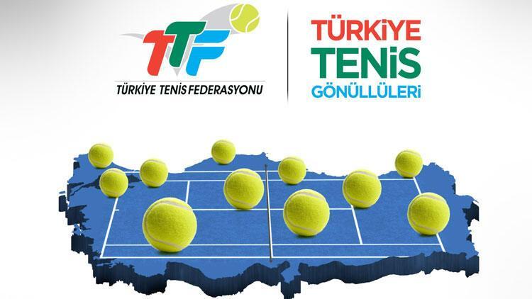 """""""Türkiye Tenis Gönüllüleri Projesi"""" başlatıldı"""