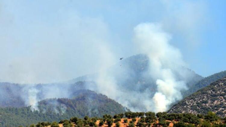 Son dakika... Hatay'ın Hassa ilçesindeki yangın iki gündür devam ediyor