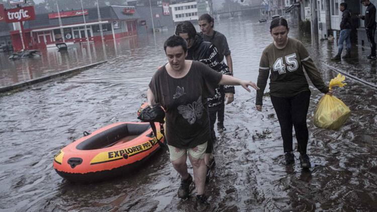 Belçika'da sel felaketinde ölü sayısı 22'ye çıktı