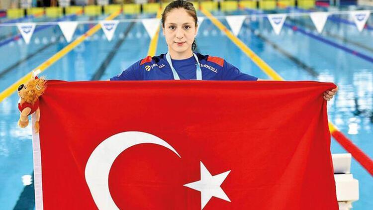 Merve Tuncel finalde yüzmek istiyor!