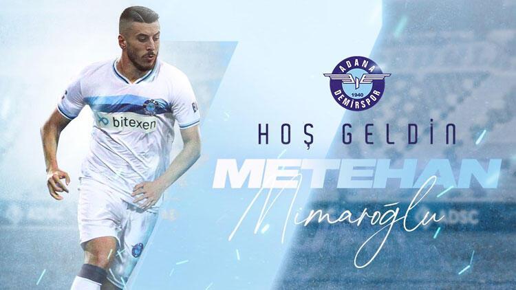 Son dakika: Adana Demirspor'dan bir transfer daha!