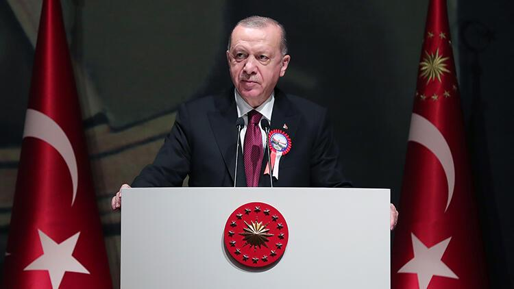 Cumhurbaşkanı Erdoğan: Askeri alanda yeni bir seviyeye ilerliyoruz