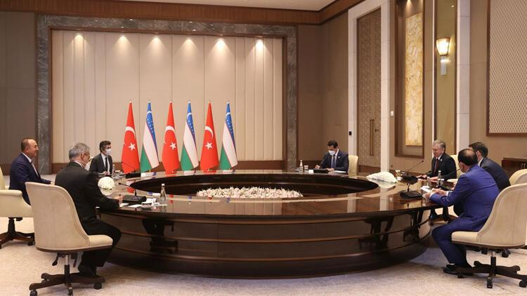 Dışişleri Bakanı Çavuşoğlu, Özbekistan Cumhurbaşkanı ve Suudi mevkidaşı ile görüştü