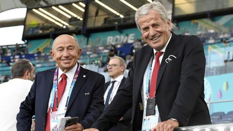 Nihat Özdemir ve Servet Yardımcı, UEFA kararlarını değerlendirdi