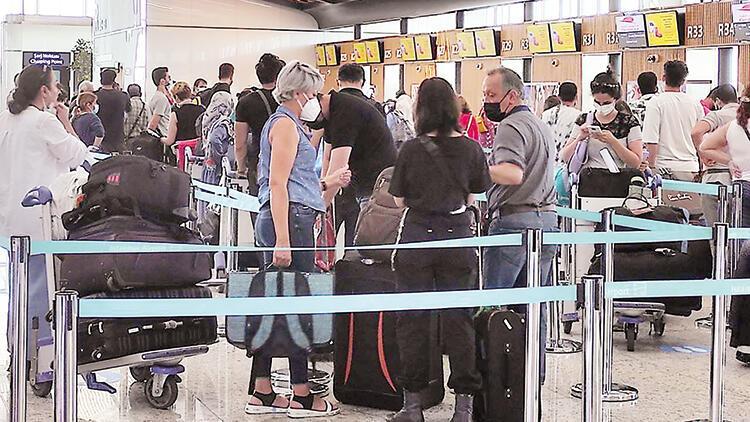 İstanbul Havalimanı'nda yolcu hareketliliği