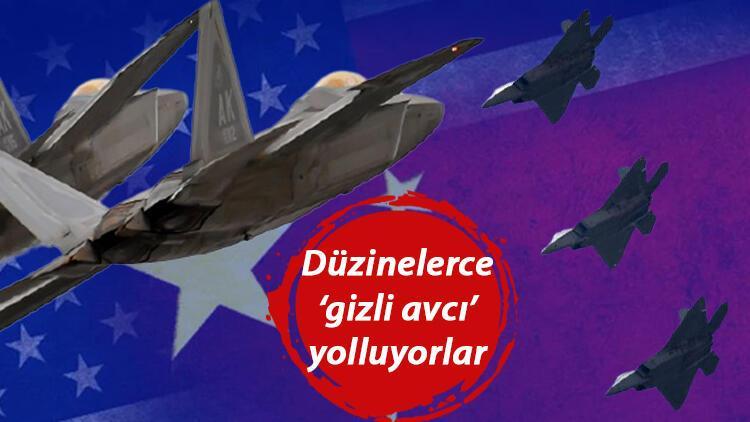 ABD'den Çin'e gözdağı: Pasifik'e düzinelerce F-22 savaş uçağı gönderecekler!