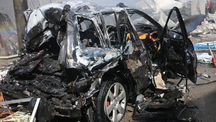 Suriye'de bombalı terör saldırısı: 2 yaralı