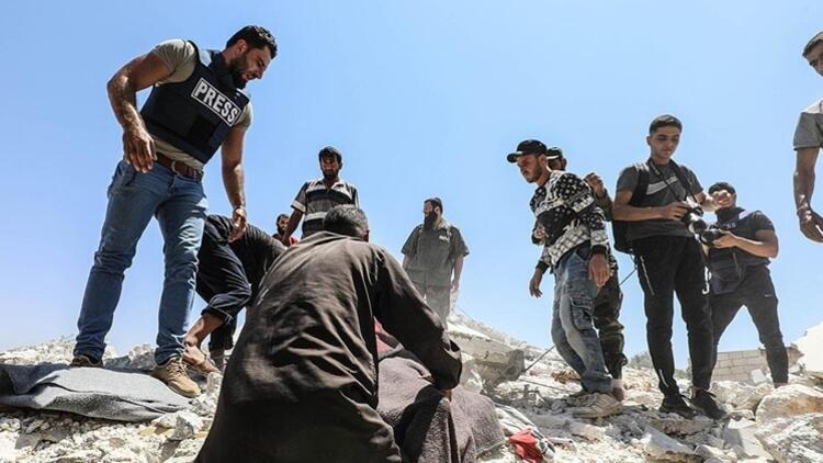 Esed rejimi İdlib'e saldırdı: 6 sivil öldü