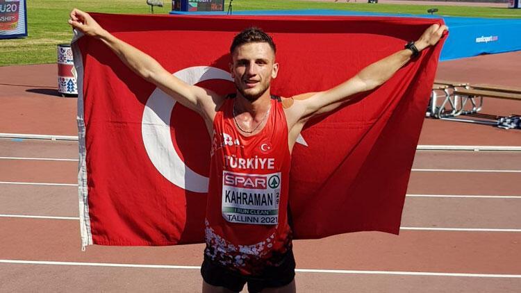 Milli atlet Mert Kahraman Avrupa ikincisi oldu