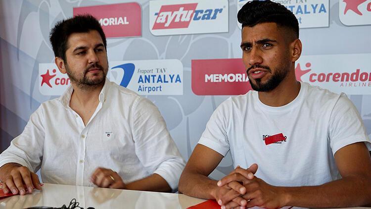 Antalyaspor'dan hücuma takviye! 2 yıllık sözleşme imzalandı