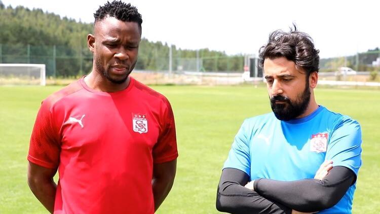 Sivasspor'un yeni transferi Leke James: 'Güzel şeyler yapacağız'