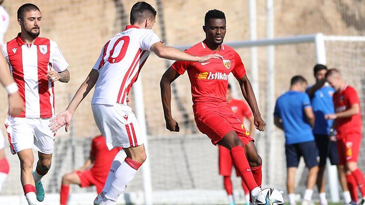 Kayserispor 0 - 1 Samsunspor (Hazırlık maçı)