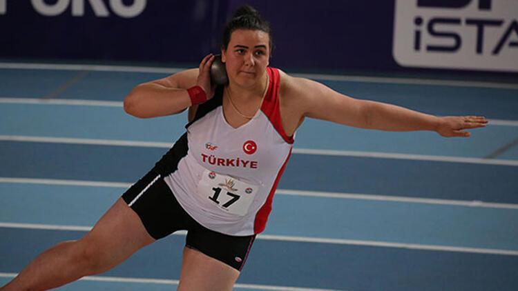 Pınar Akyol gülle atmada Avrupa şampiyonu oldu