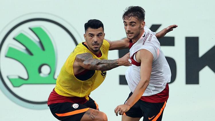 Galatasaray'da PSV Eindhoven mesaisi sürdü
