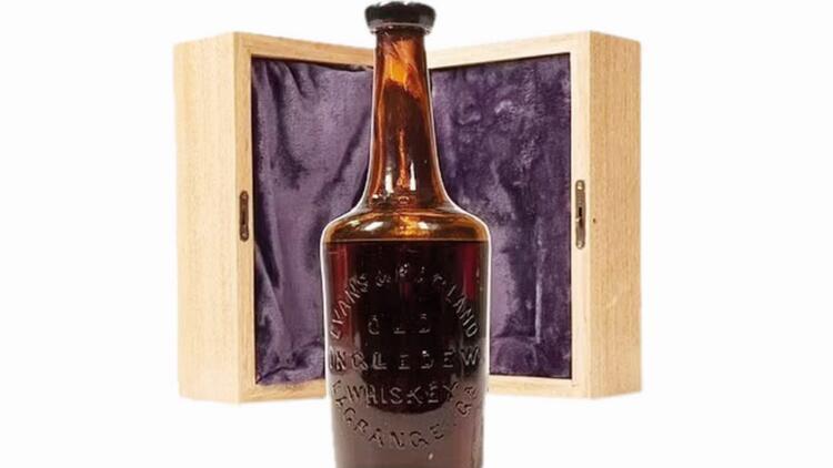 250 yıllık viski satıldı