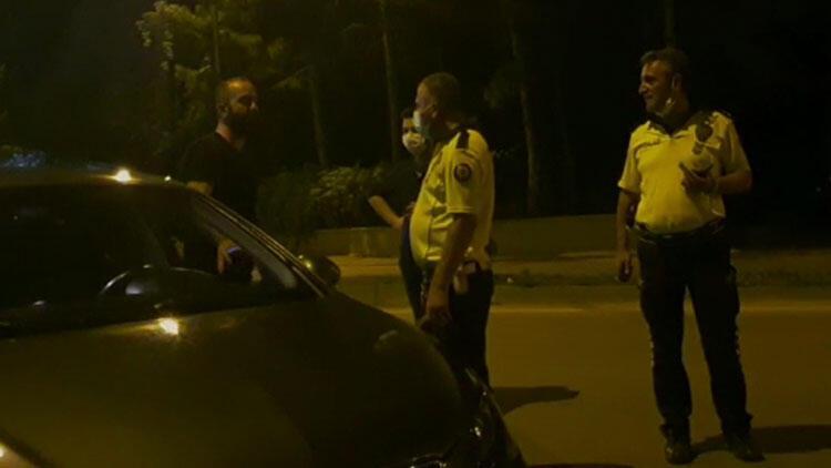 Denetimde alkollü yakalanan sürücüden dikkat çeken sözler: 'Yakaladınız, çok güzel oldu'