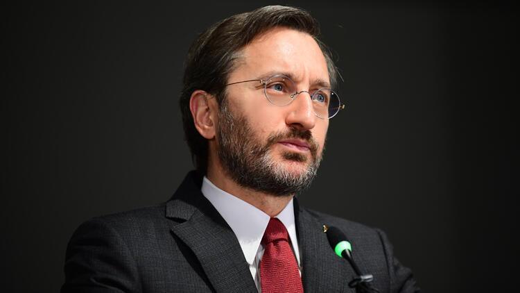 İletişim Başkanı Fahrettin Altun, Yunan basınına açıklamalarda bulundu