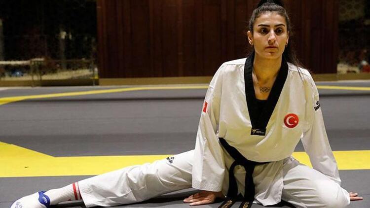 Milli tekvandocu Hatice Kübra İlgün'ün hedefi olimpiyatlarda altın madalya kazanmak