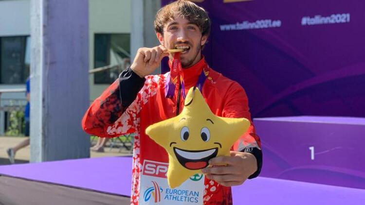 Berke Akçam'dan tarihi başarı! Avrupa şampiyonu oldu