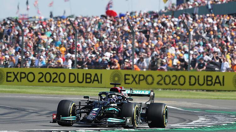 Büyük Britanya Grand Prix'sinde zafer Lewis Hamilton'ın